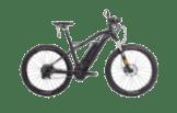 HNF Heisenberg XD1 TRAIL L/XL Mountainbike (27.5 Zoll, 49.5 cm, MTB Hardtail, 500 Wh, Schwarz Matt)