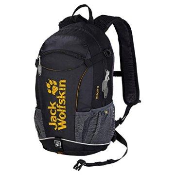 Jack Wolfskin Unisex Rucksack Velocity 12, black, 44 x 26 x 18 cm, 12 liters, 2000923-6000 -
