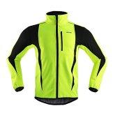 M.Baxter Fahrrad Trikot Winter Herbst Fahrradbekleidung Wasserdicht Winddicht Atmungsaktiv Warm Fleece Jacke -