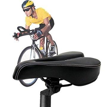 Mture Herren Sättel Cityradsättel Mountainbikesättel Rennradsättel Tourensattel Gel tour / City Bike Saddles -