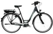 Nopeus ETOUR 500 N8 SE Citybike (50 cm, Wave, 500 Wh, Schwarz matt)