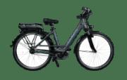 Nopeus Nexus 8 eTour Citybike (28 Zoll, 53 cm, Wave, 400 Wh, Grau)