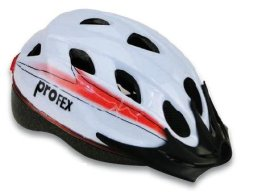 Profex Fahrradhelm, beleuchtet - 1