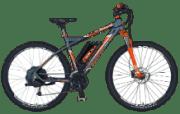 REX Bergsteiger 6.8 Twentyniner Mountainbike (29 Zoll, 50 cm, MTB Hardtail, 412 Wh, Anthrazit)