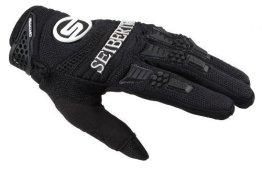 Seibertron Herren Handschuhe Dirtpaw Race Fahrrad Handschuhe sporthandschuhe für Radsport MTB Outdoor Sport Gloves Schwarz L -