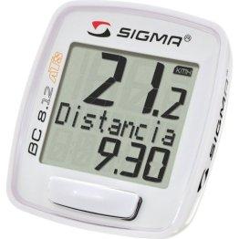 Sigma Sport Fahrradcomputer BC 8.12 ATS, White, 08130 -
