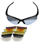 SODIAL (R) UV400 Schutz-Glas-Sonnenbrille Sport Fahrrad Neu -