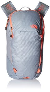 The North Face Unisex Rucksack Pachacho, dapple grey/tropical rot, 42,5 x 26 x 13 cm, 12 liters -