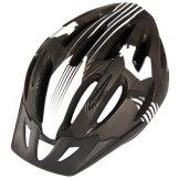 Ultrasport Erwachsenen Fahrradhelm Paris, Schwarz/Weiß/Grau, 58 - 62 cm, 331400000045 -