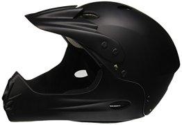 Ventura Downhill Helm, matt schwarz, L (58-62 cm) -