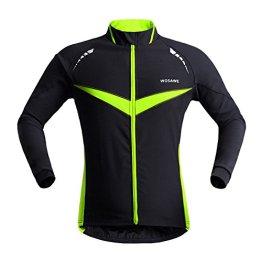 WOSAWE 2015 Neue Profit Herren Fahrradjacke Herren Radjacke Winddichte Wasserdicht MTB Mountain Bike Jacket (L) -