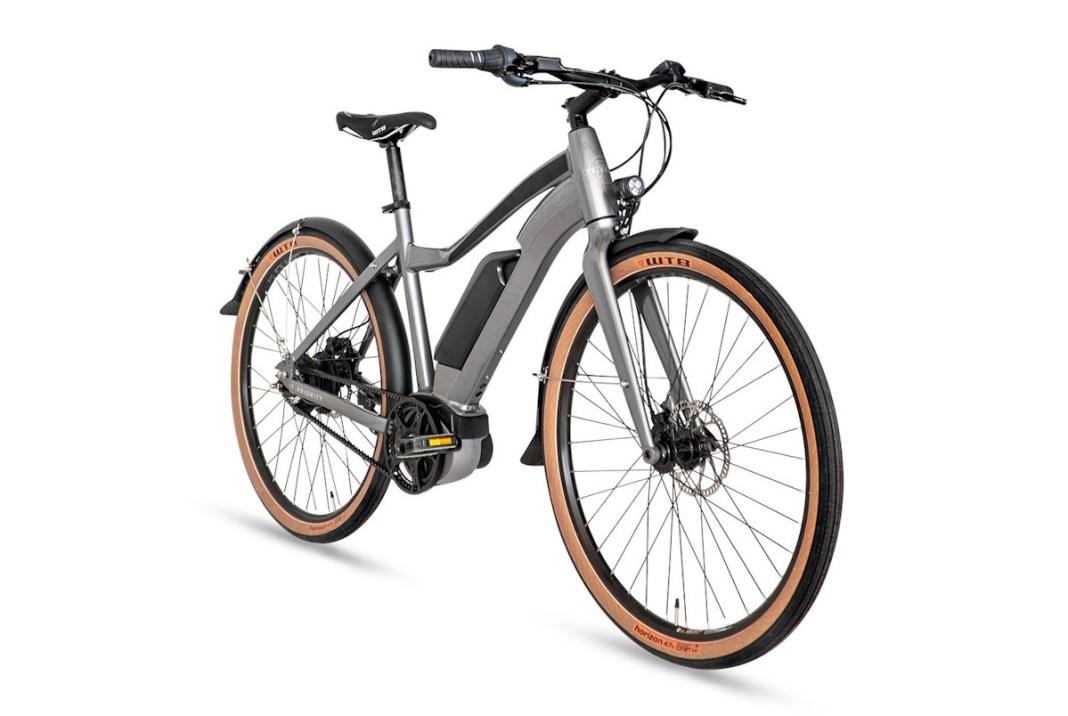 Priority Embark e-bike, angle