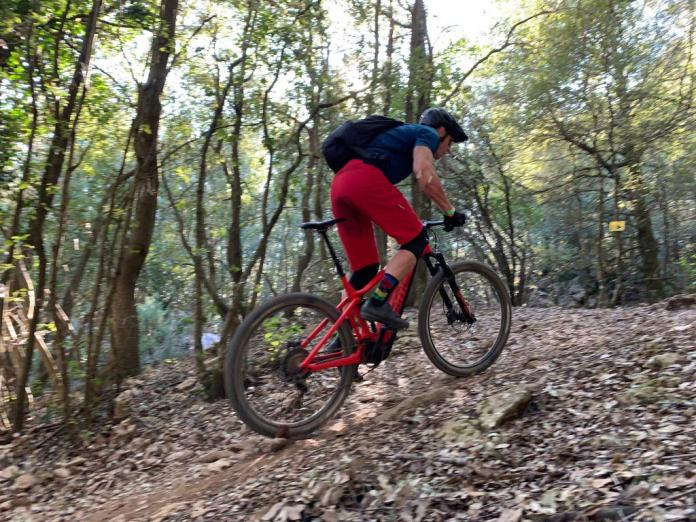 ride review for BMC Speedfox AMP alloy eMTB