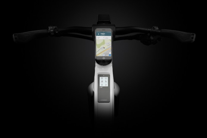 Stromer ST3, touchscreen display unit