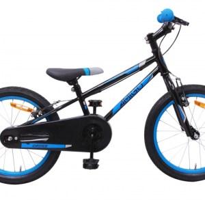 AMIGO Cross 20 Inch 24 cm Jongens V-Brake Zwart/Blauw