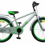 AMIGO Sports 20 Inch 28 cm Jongens Terugtraprem Grijs/Groen