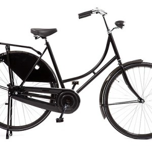 Avalon Budget-Export 28 Inch 56 cm Dames Terugtraprem Zwart