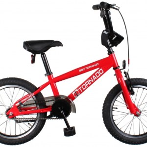 Bike Fun Cross Tornado 16 Inch 34 cm Junior Terugtraprem Rood