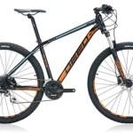 Deed Flame 294 29 Inch 50 cm Heren 8V Hydraulische schijfrem Zwart/Oranje
