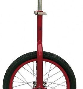 Fun Eenwieler 16 Inch 43 cm Unisex Rood