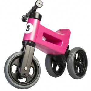 Funny Wheels Rider Sport Cool loopfiets Junior Roze