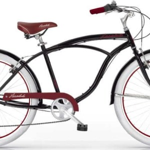 MBM Honolulu 26 Inch 47 cm Heren 6V V-Brake Zwart