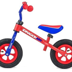 Milly Mally loopfiets Dragon Air 10 Inch Junior Blauw/Rood