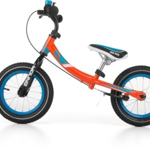 Milly Mally loopfiets Young 12 Inch Junior Knijprem Oranje
