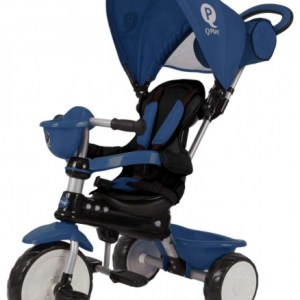 QPlay Comfort 4-in-1 driewieler Junior Blauw