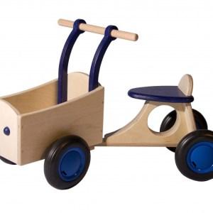 Van Dijk Toys loop-bakfiets Junior Blauw