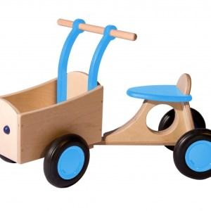 Van Dijk Toys loop-bakfiets Junior Lichtblauw