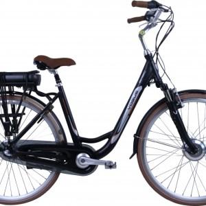 Vogue Basic 28 Inch 49 cm Dames 3V Rollerbrake Matzwart