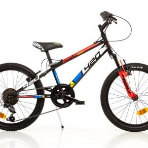 Aurelia 420US-0406 20 Inch 27 cm Jongens 6V V-Brake Zwart