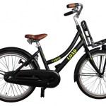 Bike Fun Cargo Load 20 Inch 33 cm Meisjes Terugtraprem Zwart