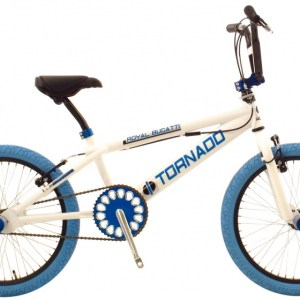 Bike Fun Tornado 20 Inch 55 cm Junior V-Brake Wit/Blauw