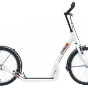 Bike Fun step 20 Inch Unisex V-Brake Wit/Zwart