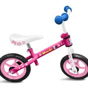 Disney loopfiets Minnie Mouse 10 Inch Meisjes Roze/Wit