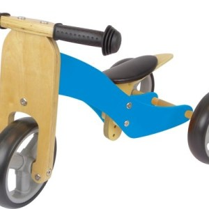 Fieldyards JW138 2-in-1 loopfiets Junior Blauw