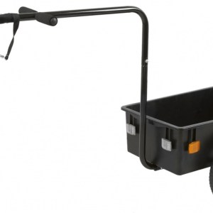 M-Wave Mini Fietskar 12 Inch Unisex Zwart