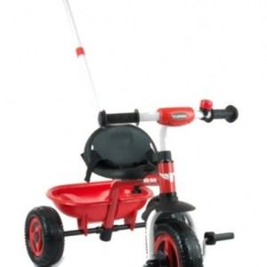 Milly Mally Turbo driewieler Junior Rood/Zwart