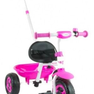 Milly Mally Turbo driewieler Junior Roze/Wit