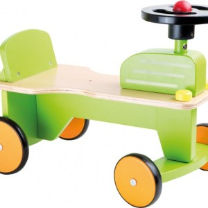 Small Foot Loopfiets Tractor Junior Groen