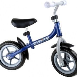 Small Foot Loopfiets city scooter Jongens Blauw