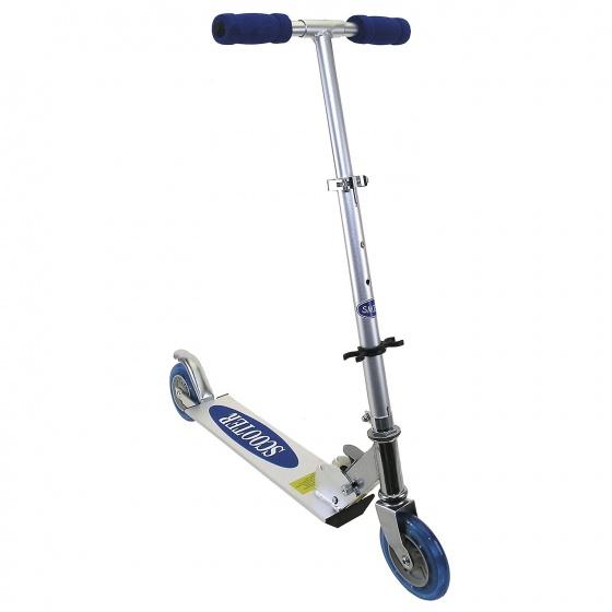 X-Sports Mini Roller step Junior Voetrem Zilver