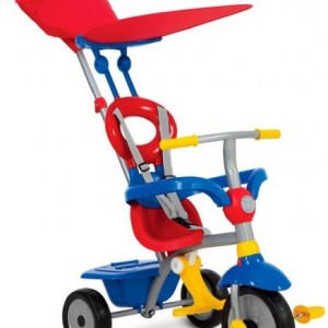 smarTrike Zip Plus Junior Rood/Blauw