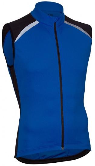 Avento Fietsshirt mouwloos heren blauw/zwart/wit maat XXL