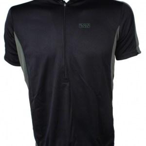 IXS Fietsshirt Cusco Basic-Comp heren zwart maat S
