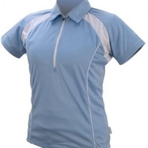 IXS Fietsshirt Tela Basic-Pro dames lichtblauw maat XS