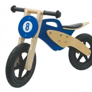 Jamara loopfiets motor 89 x 40 x 51 cm Junior Blauw