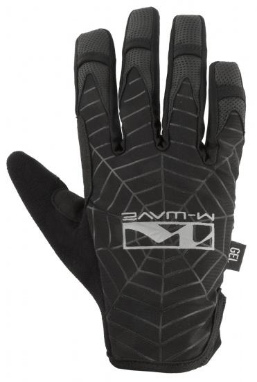 M-Wave Fietshandschoenen Spiderweb Zwart Maat 8